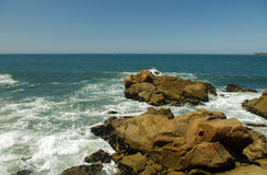 Rocky Ocean Beach royalty free stock photos