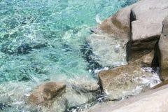 Rocky ocean coast Stock Photos