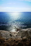 Rocky ocean coastlin, scala dei turchi Royalty Free Stock Photos