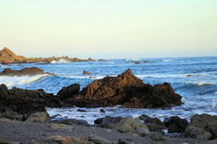 Rocky Ocean Landscape Stock Images
