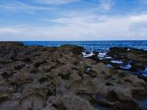 Rocky Ocean Scene Imagens de Stock Royalty Free