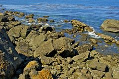 Rocky Ocean Shore Royalty Free Stock Images