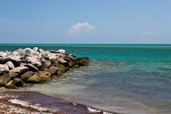 Rocky ocean shore Stock Photo