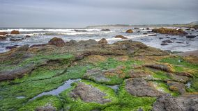 Rocky oceanside Royalty Free Stock Photography