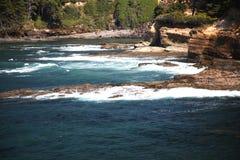 Rocky Oregon Coast - Newport Royalty Free Stock Photography