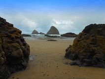 Rocky Oregon Coast Stock Photography