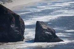Rocky Oregon Coastline royalty free stock photo