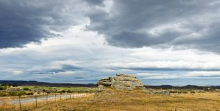 Rocky outcrop Royalty Free Stock Images