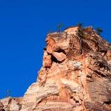 Rocky Outcrop em Zion imagens de stock royalty free
