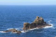 Rocky Outcrop Island. fotografia de stock
