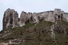 The rocky outcrop is located in the Upper Cretaceous of the Cons Royalty Free Stock Photography