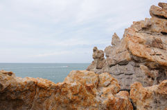 Rocky outcropping Royalty Free Stock Photo