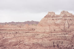 Rocky Outlook | Badlands National Park, South Dakota, USA Stock Image