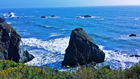 Rocky Pacific Ocean Photo stock