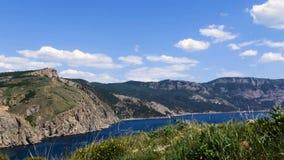 Rocky, paisaje del mar metrajes