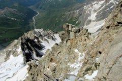 rocky pasmo górskie Zdjęcie Royalty Free
