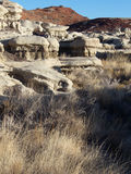 Rocky Passage. Varied terrain and ancient geology in the desert Southwest stock image