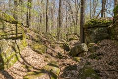 Rocky Path Stock Images
