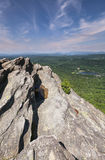 Rocky Peak Grandfather Mountain Vertical-North Carolina Lizenzfreie Stockfotografie