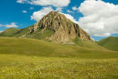 Rocky Peak, Kyrgyzstan Royalty-vrije Stock Afbeelding