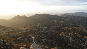 Rocky Peak Park Sunrise - Los Angeles, California stock video footage