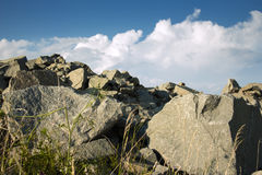 Rocky peak Royalty Free Stock Images