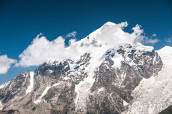 Rocky peaks of Elbrus Royalty Free Stock Photography