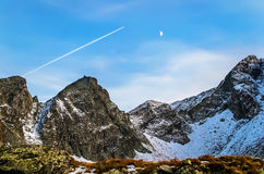 Rocky peaks Royalty Free Stock Photo