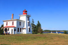Rocky Point lighthouse P.E.I Royalty Free Stock Photography
