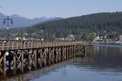 Rocky Point Park am Hafen schwermütig BC Stockfoto