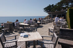 Rocky Point Restaurant, Big Sur Stock Photography