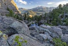 Rocky Pools über Gem Lake lizenzfreies stockfoto