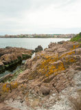 Rocky promontory Sozopol Royalty Free Stock Photos