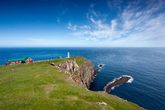 Free Rocky Promontory With A Lighthouse Stock Photos - 21508533