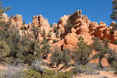Rocky Range at Red Canyon Stock Photos