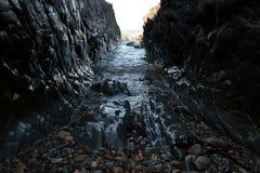 Rocky ravine Royalty Free Stock Image