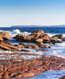 Rocky reefs Royalty Free Stock Images