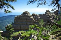 Rocky ridge Stock Images
