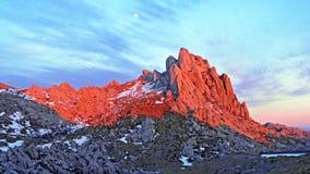 Free Rocky Ridge Of Tulove Grede Or Karst Mountain Peak Of Tulovice, Velebit - Croatia Stock Image - 171122791