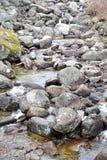 Rocky river bed at High Tatras, Slovakia Royalty Free Stock Photo