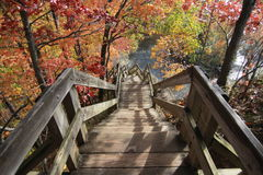 Rocky River Reservation, Cleveland Metroparks Stock Image