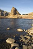 Rocky riverbed Montana Countryside USA Stock Images