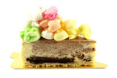 Rocky Road Cheese Cake stock photos