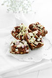 Rocky Road Chunks Stock Photography