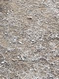 Rocky road. A closer view of a rock filled path stock photos
