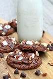 Rocky Road Cookies Stock Image