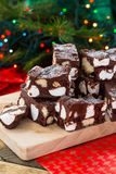 Rocky road crunch bars Stock Photo