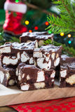 Rocky road crunch bars Stock Image