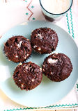 Rocky road muffins Royalty Free Stock Image