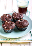 Rocky road muffins Royalty Free Stock Photo
